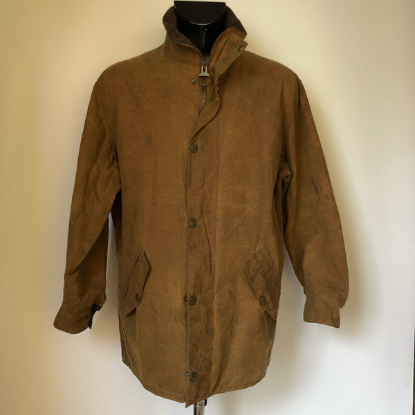 Giacca Uomo Marrone Impermeabile e Imbottita Taglia Large - Brown Waxed and Warm Jacket - Shop in London