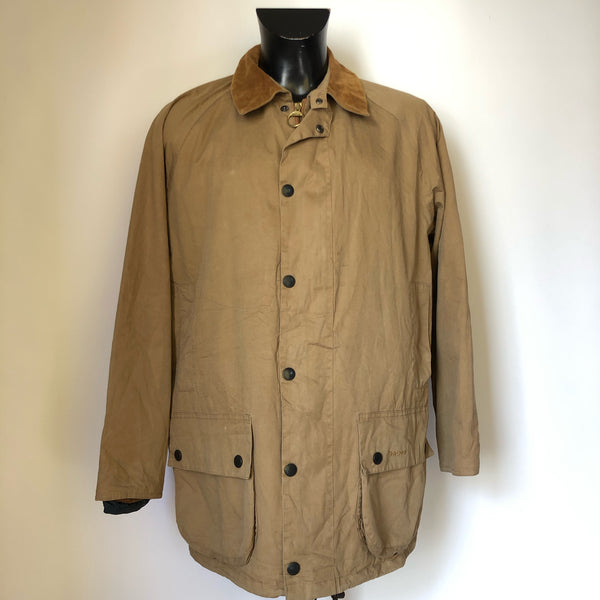 Giacca Barbour Lightweight Beaufort Beige Medium - Beige Lightweight Wax jacket Medium