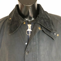 Barbour Giacca Uomo Bedale Blu C48/122 CM Taglia XL cerato e impermeabile - Navy blue waxed jacket