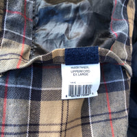 Barbour Giacca Blu Upperford cerata XL recente - Navy Four Pockets Jacket