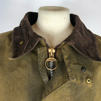 Barbour Solway Zipper Cerato Marrone C48/122 cm XLarge-Brown Vintage Waxed jacket