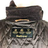 Giacca Barbour marrone scuro Rebel con cintura UK14 Taglia 46 Rustic Waxed Jacket with hood