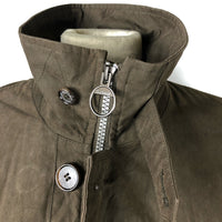 Cappotto Barbour Uomo Marrone Imbottito Large Brown Waterproof Coat