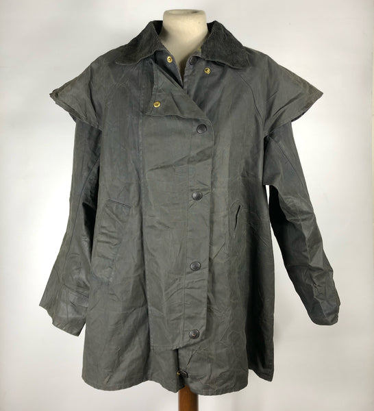 Barbour Backhouse New Zealand nero C38/97 cm Small - Equestrian Black Waxed Jacket 38''