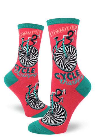 Cycle therapy Women's Crew Socks