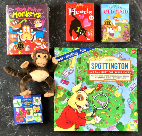 Sharp Eyes and Quick Thinking - Fun games for 5 and up.