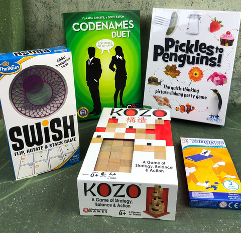 Duet Games Box - Wonderful games for 2 or more players!