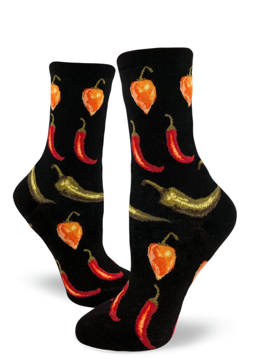 Hot Chili Pepper Women's Crew Socks