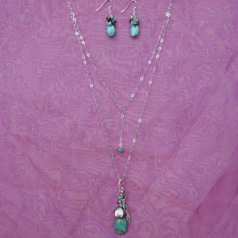 Assorted Turquoise Cluster Set