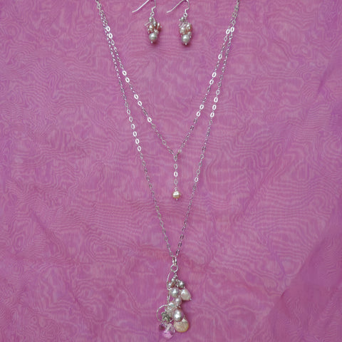 Assorted Pearl Cluster Set