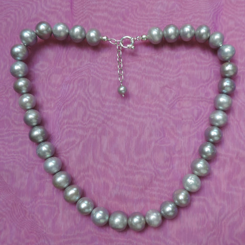 Perfect Silver Pearls Set