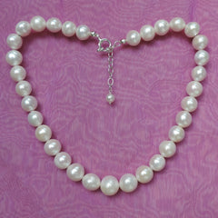 perfect white pearls