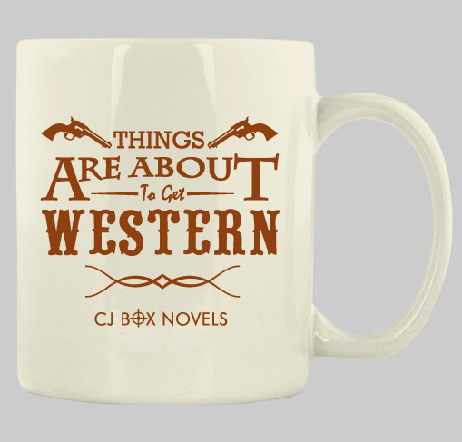 """Things are about to get Western"" Mug"
