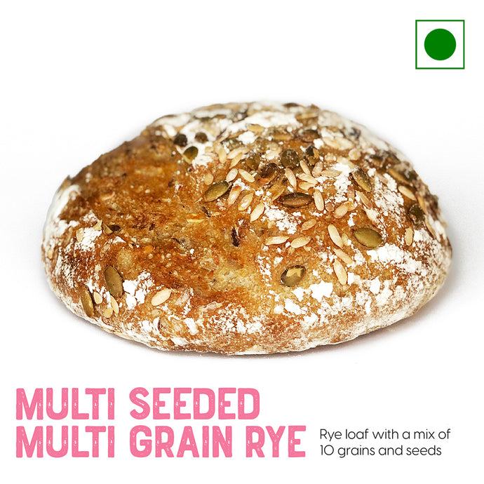 Rye loaf with a mix of 10 grains and seeds | Buy Sourdough Breads online