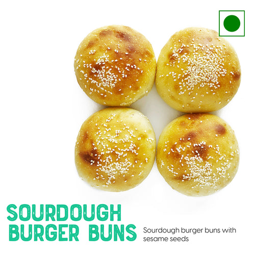 Sourdough Burger Buns with and sesame seeds | Buy Sourdough Breads online
