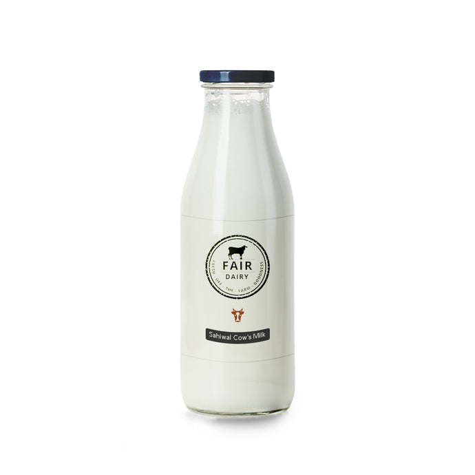 Fresh and 100% pure A2's Sahiwal Cow's milk