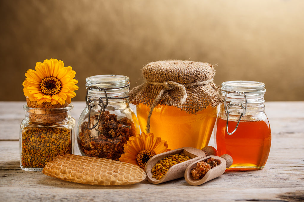 What is bee propolis? Is it the same as honey?