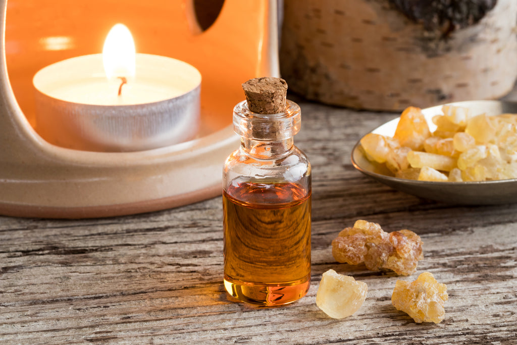 Frankincense for cold sores