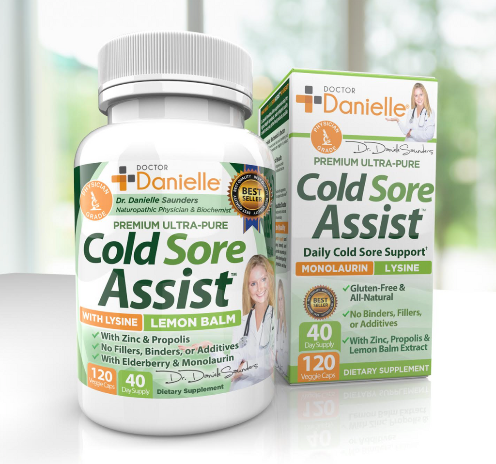 Dr. Danielle Cold Sore Assist, An All-In-One Supplement That Combats Cold Sores