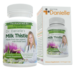Dr. Danielle's Organic Milk Thistle Supplement with Flavonoids