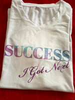 Load image into Gallery viewer, SUCCESS T-Shirt White *Special Material*