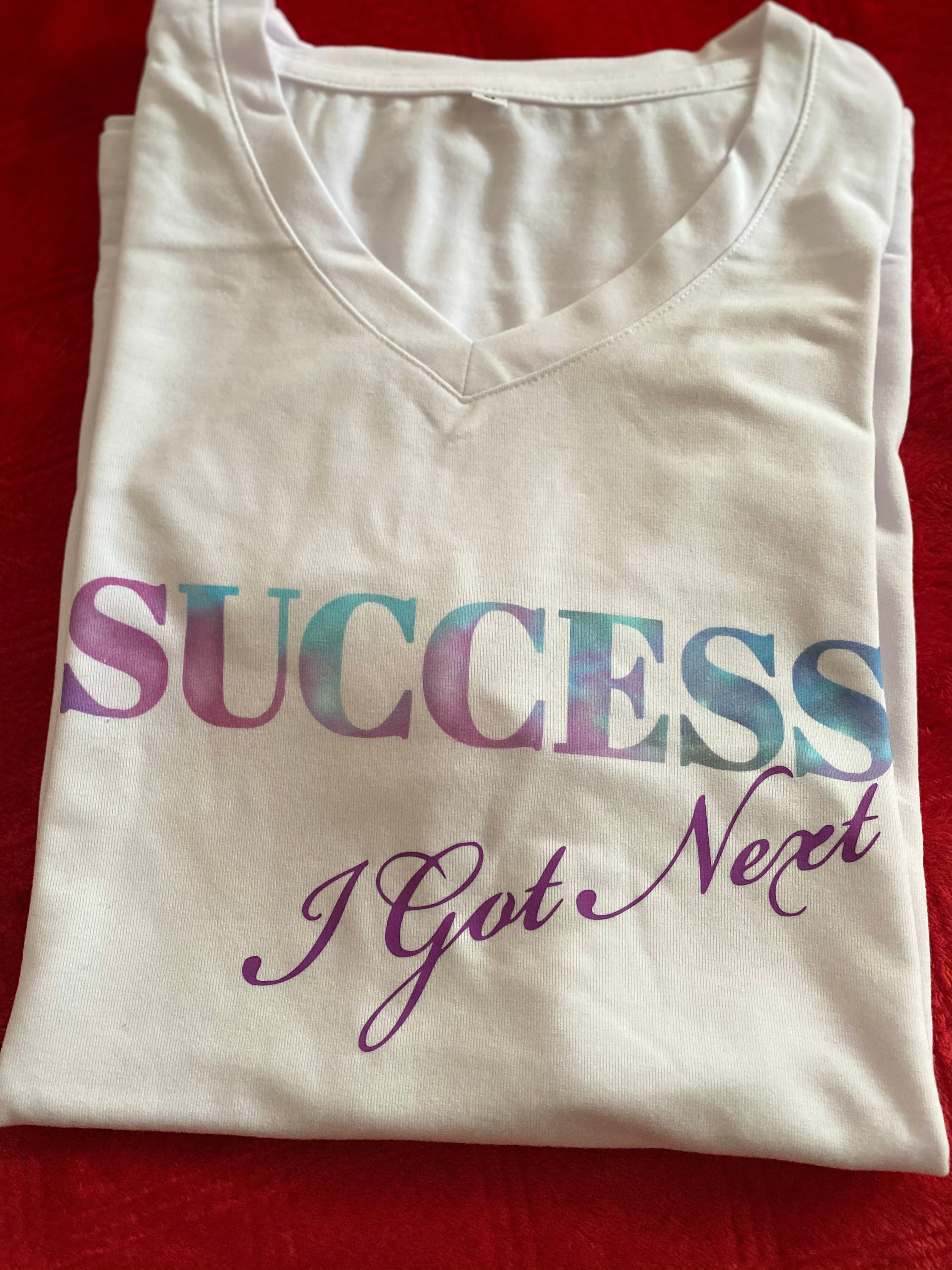 SUCCESS T-Shirt White *Special Material*