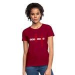Load image into Gallery viewer, Women's T-Shirt - dark red