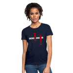 Load image into Gallery viewer, Women's T-Shirt - navy