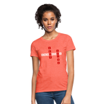 Load image into Gallery viewer, Women's T-Shirt - heather coral