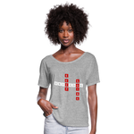 Load image into Gallery viewer, Women's Flowy T-Shirt - heather gray