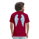 Load image into Gallery viewer, Men's Psalms T-Shirt - dark red