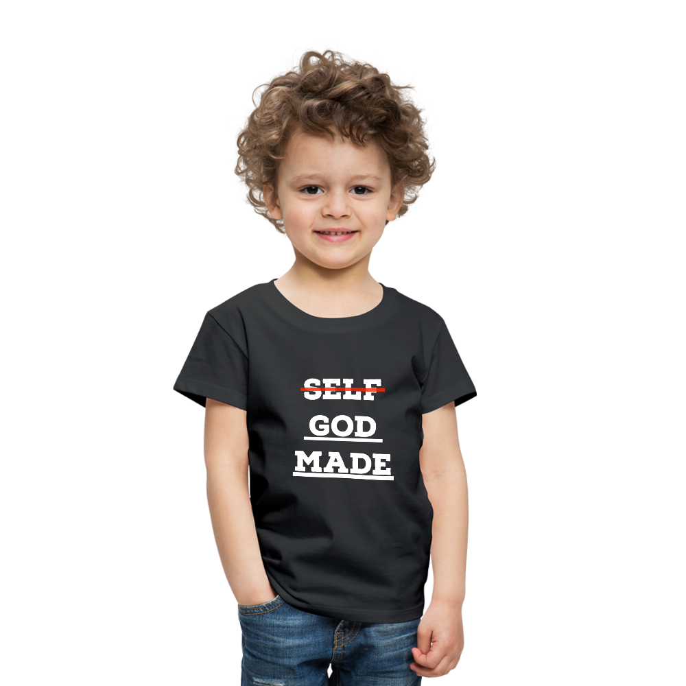 Toddler God-Made Premium - black