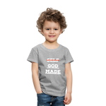 Load image into Gallery viewer, Toddler God-Made Premium - heather gray