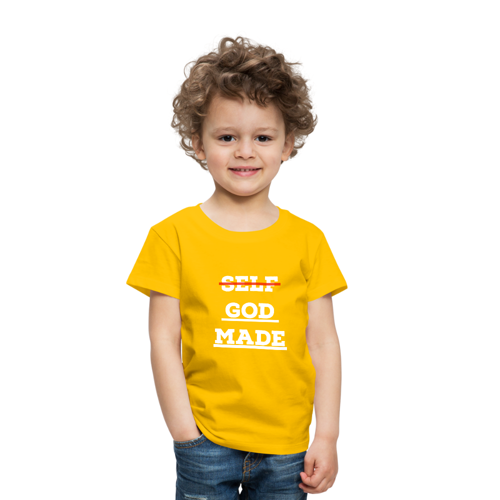 Toddler God-Made Premium - sun yellow