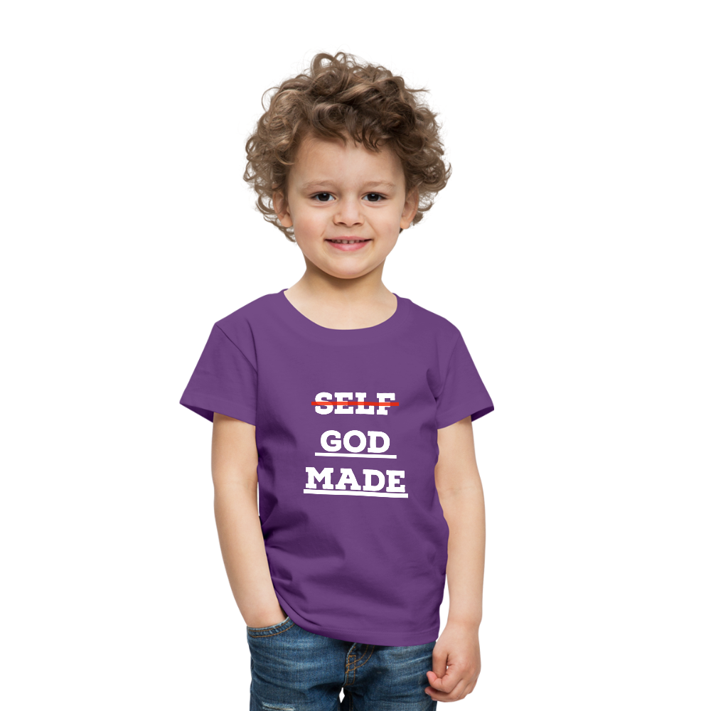 Toddler God-Made Premium - purple