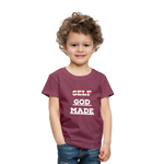 Load image into Gallery viewer, Toddler God-Made Premium - heather burgundy