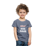 Load image into Gallery viewer, Toddler God-Made Premium - heather blue