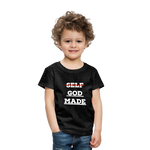 Load image into Gallery viewer, Toddler God-Made Premium - charcoal gray