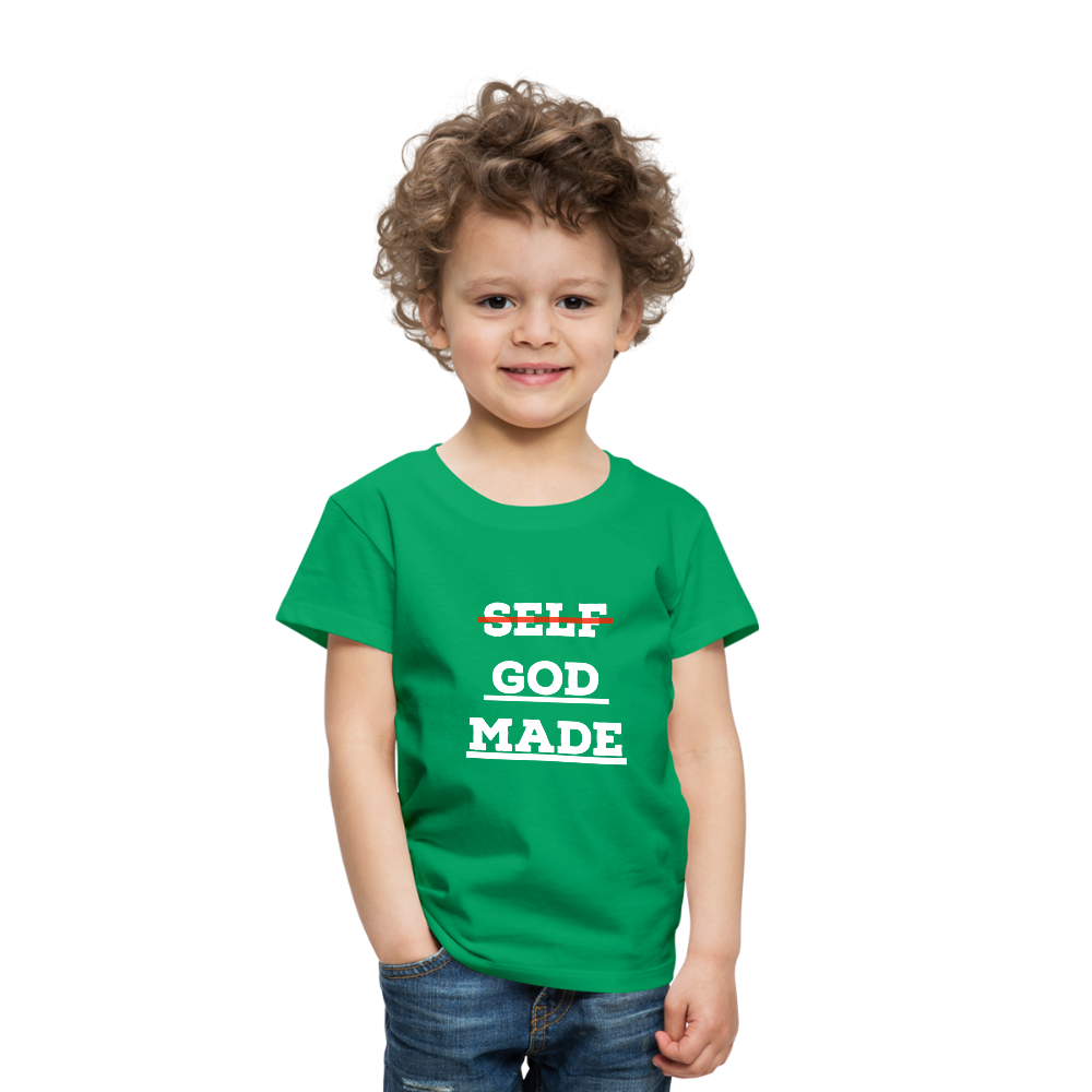 Toddler God-Made Premium - kelly green