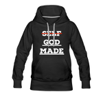 Load image into Gallery viewer, Women's God-Made Premium Hoodie - black