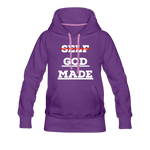 Load image into Gallery viewer, Women's God-Made Premium Hoodie - purple