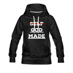 Load image into Gallery viewer, Women's God-Made Premium Hoodie - charcoal gray
