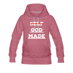 Load image into Gallery viewer, Women's God-Made Premium Hoodie - mauve