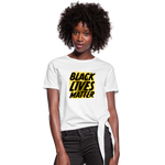 Load image into Gallery viewer, Women's BLM Knotted - white