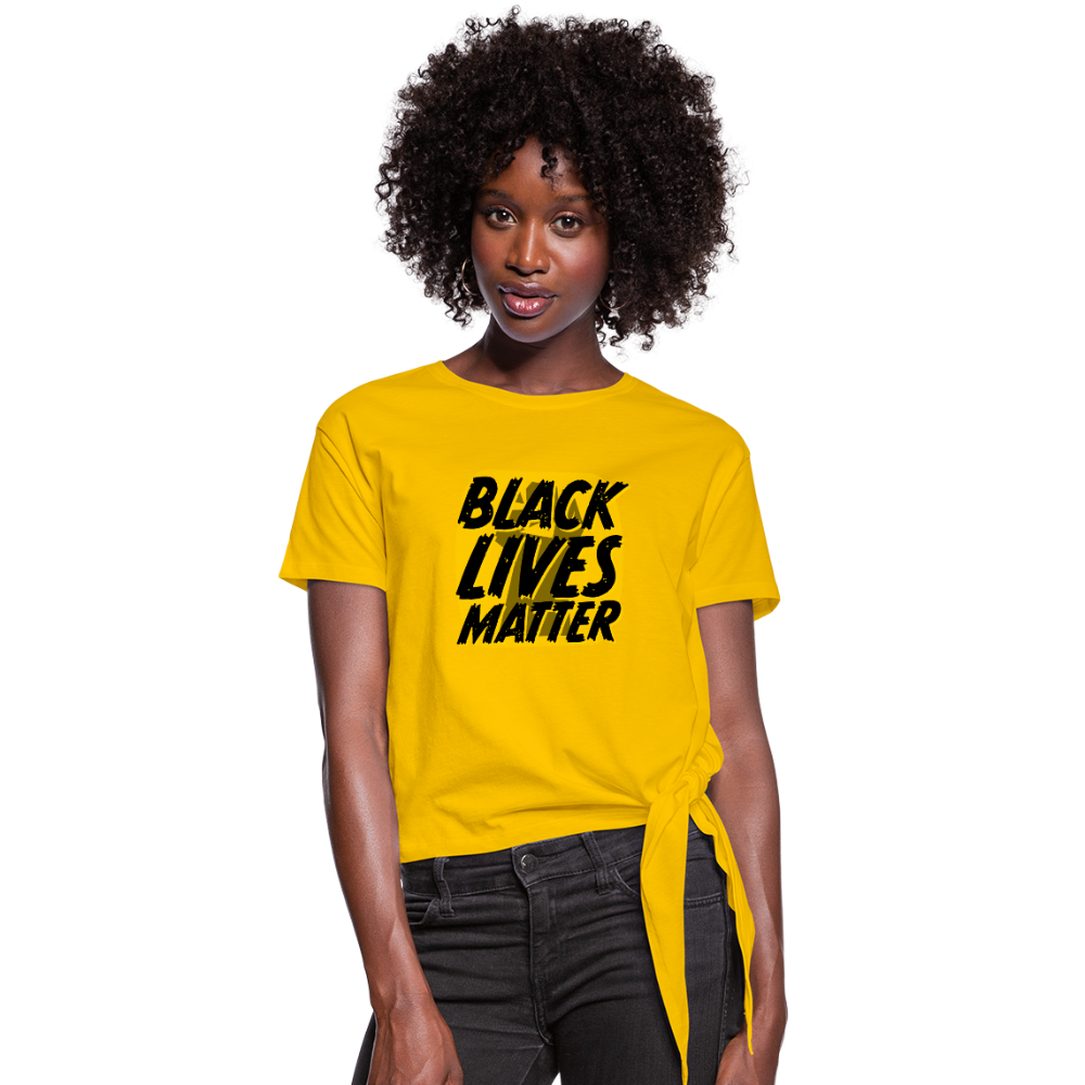 Women's BLM Knotted - sun yellow