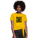 Load image into Gallery viewer, Women's BLM Knotted - sun yellow