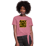 Load image into Gallery viewer, Women's BLM Knotted - mauve
