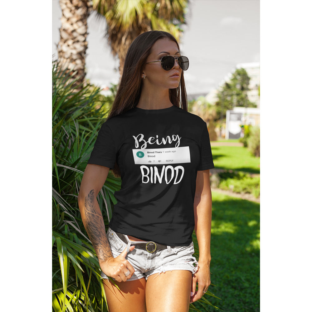 Being Binod T-Shirts, Hoodies | Official Binod Merchandise  | Bling Fling