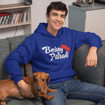 Being Pahadi Premium Unisex Royal BlueHoodie