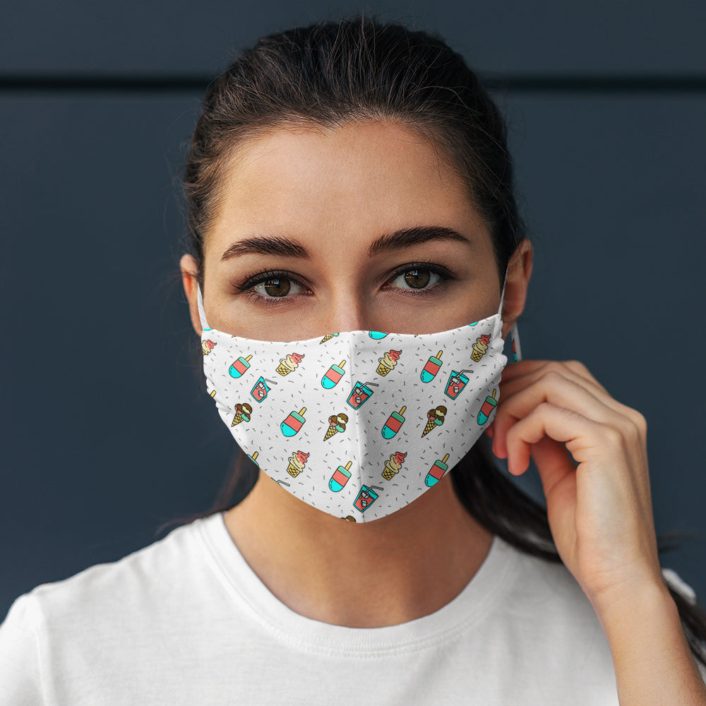 Cool Summer Unisex 3 Layer Mask